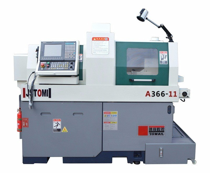A366-11 / B366-11 high efficiency double spindle swiss type cnc lathe