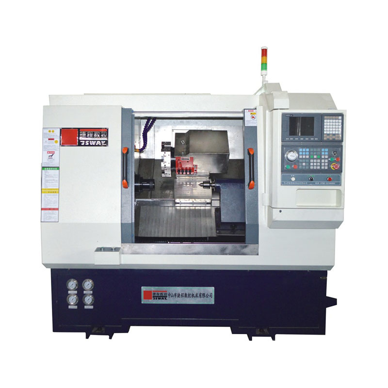 CFG46D/CFG56D 2 axis slant bed turret CNC lathe machine