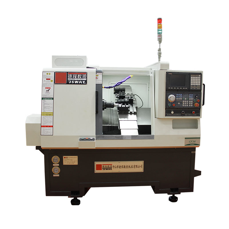 CF36 2 axis gang type slant bed CNC lathe machine