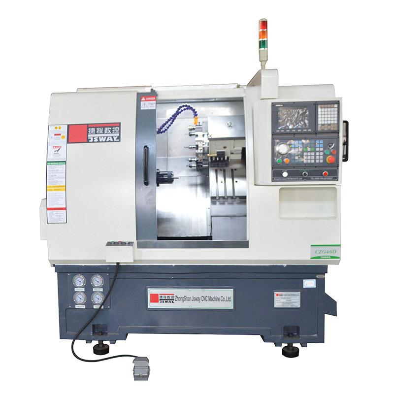 CZG46D/CZG56D 2 axis slant bed turret CNC lathe machine