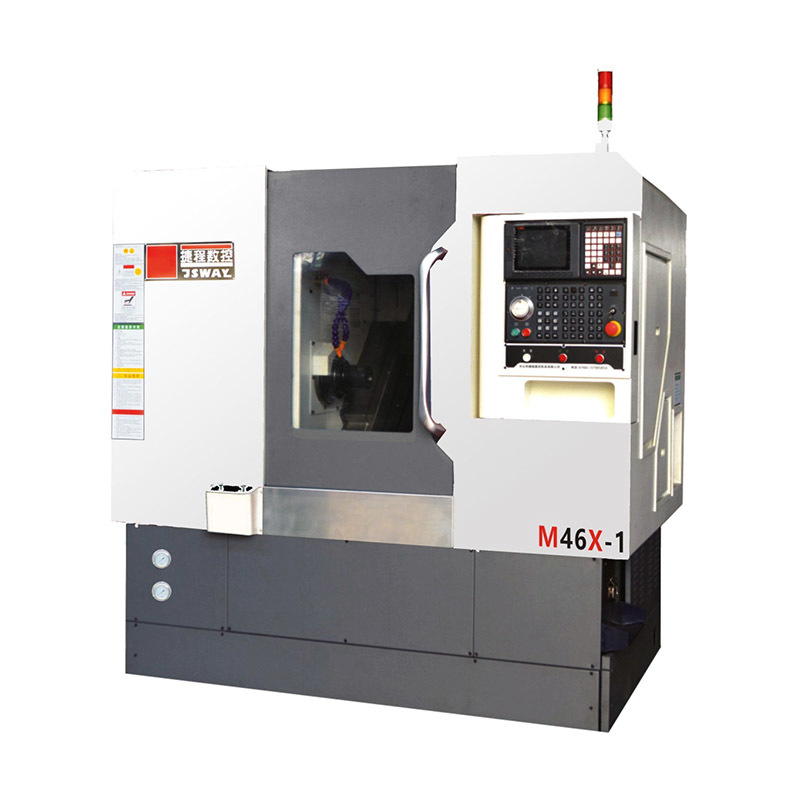 2018 new CFG46X/M46X Multi axis gang type slant bed CNC turning lathe