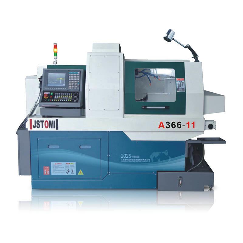 Swiss type lathe machine 6 aixs