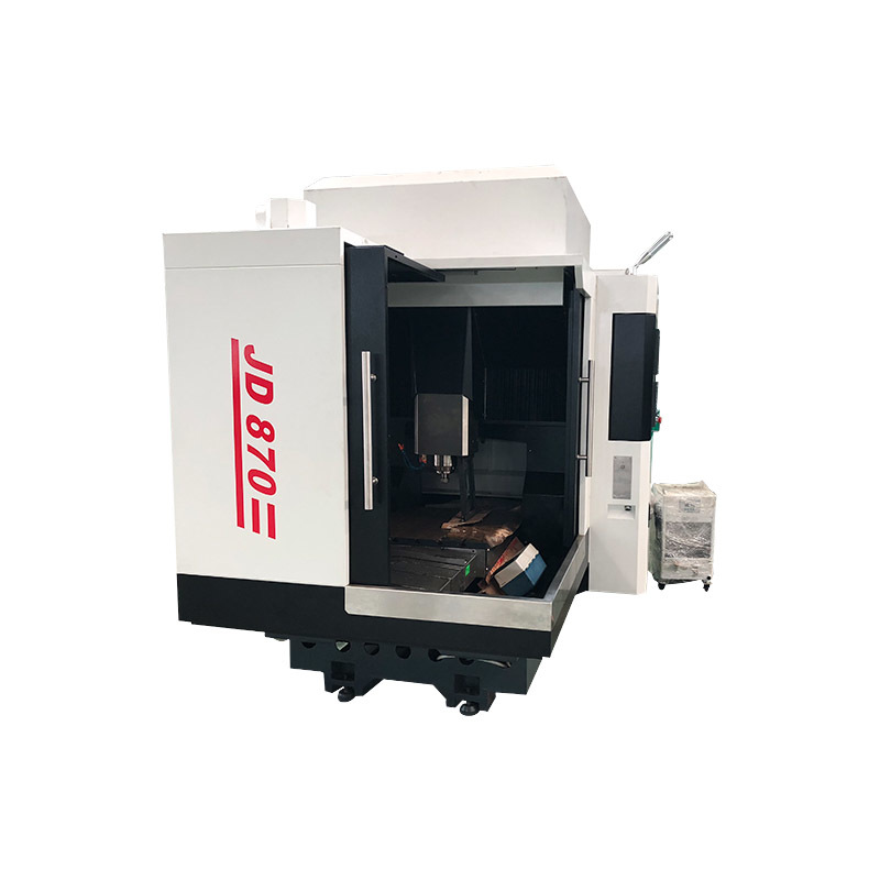 New JD870 automatic grade CNC metal milling machine