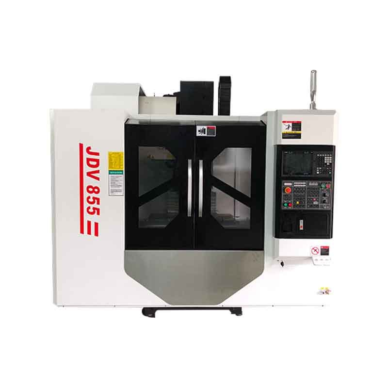 High Quality JDV855 3 axis Linear Guide Rail CNC vertical Machining Center Single Workbench