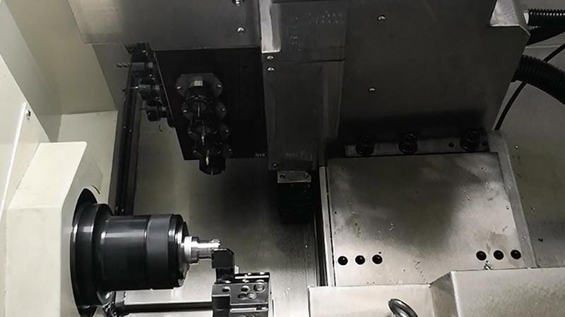B8D producing optical parts