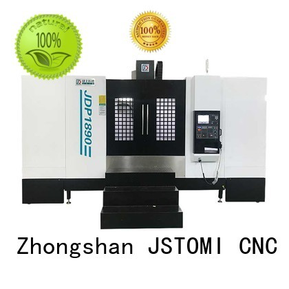 vertical metal rail OEM cnc machining center JSWAY