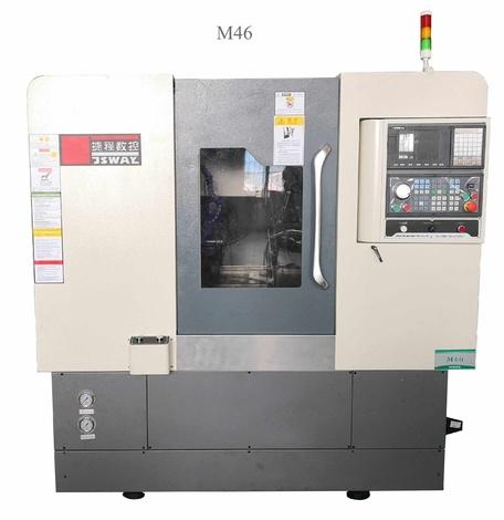 2018 New design 2 Axis Slant Bed Horizontal Torno  CNC China M46