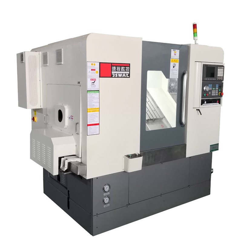 2018 New design 4 Axis Slant Bed turning and milling combine lathe machine  M46X